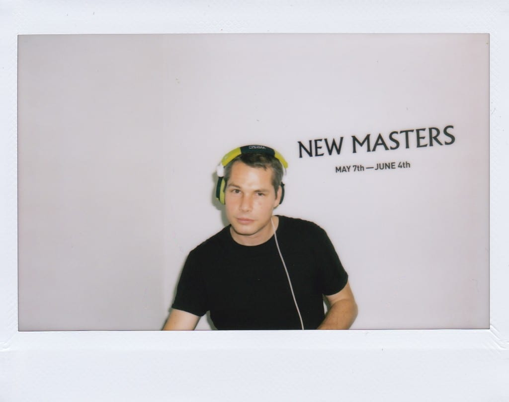 Artist Shepard Fairey spins tunes @ Subliminal Project Gallery