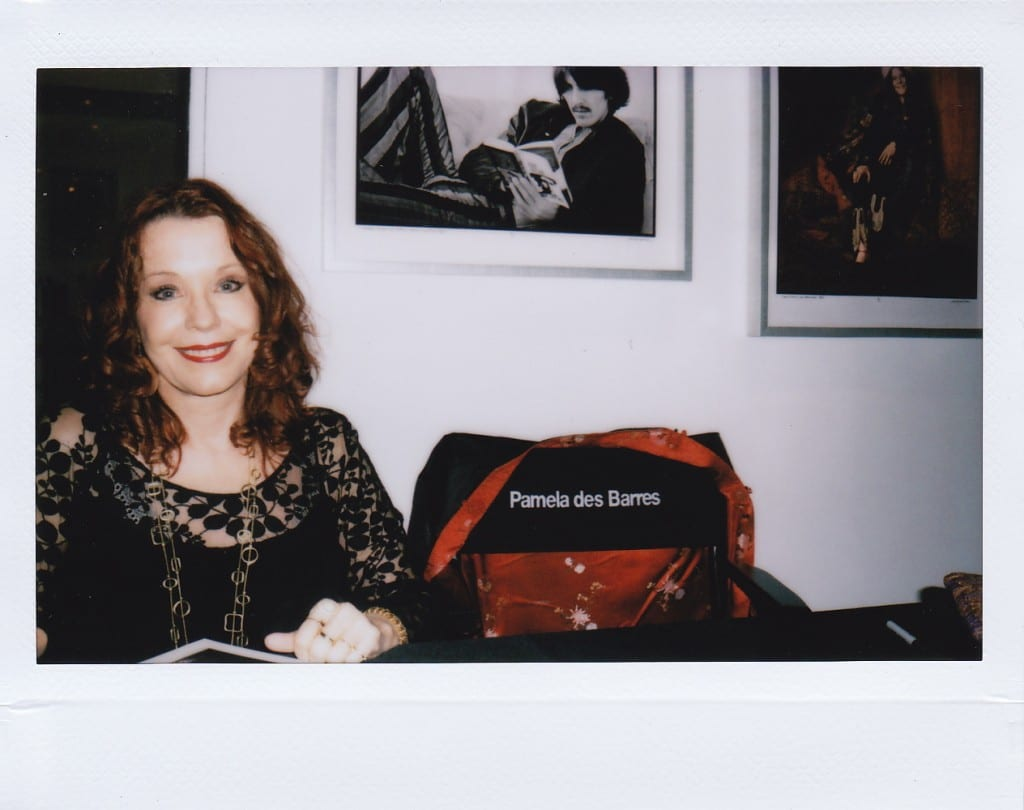 70s G******, Author and Writer Pamela des Barres @ Duncan Miller Gallery