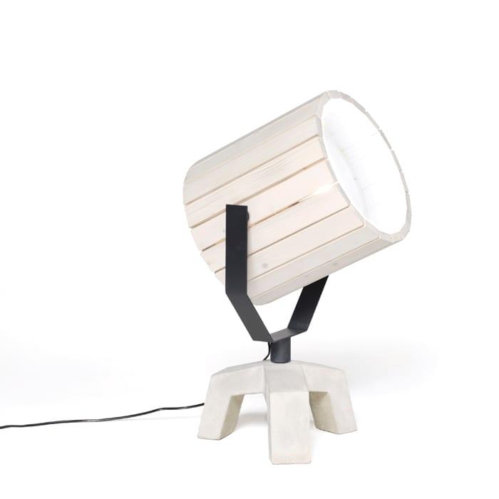Barrel Lamp by Nieuwe Heren for Newduivendrecht Ceramic Speakers.