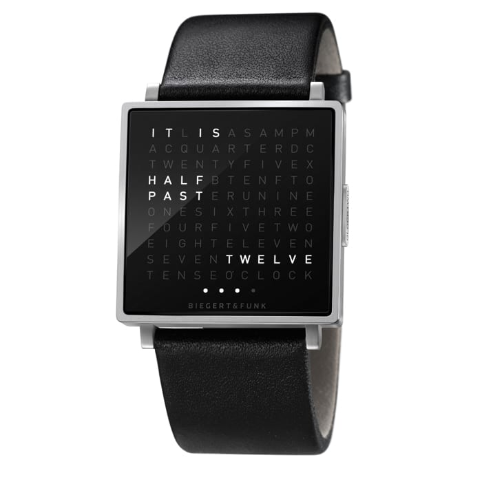 Hayon for Bosa Qlocktwo W watch by Biegert_Funk.