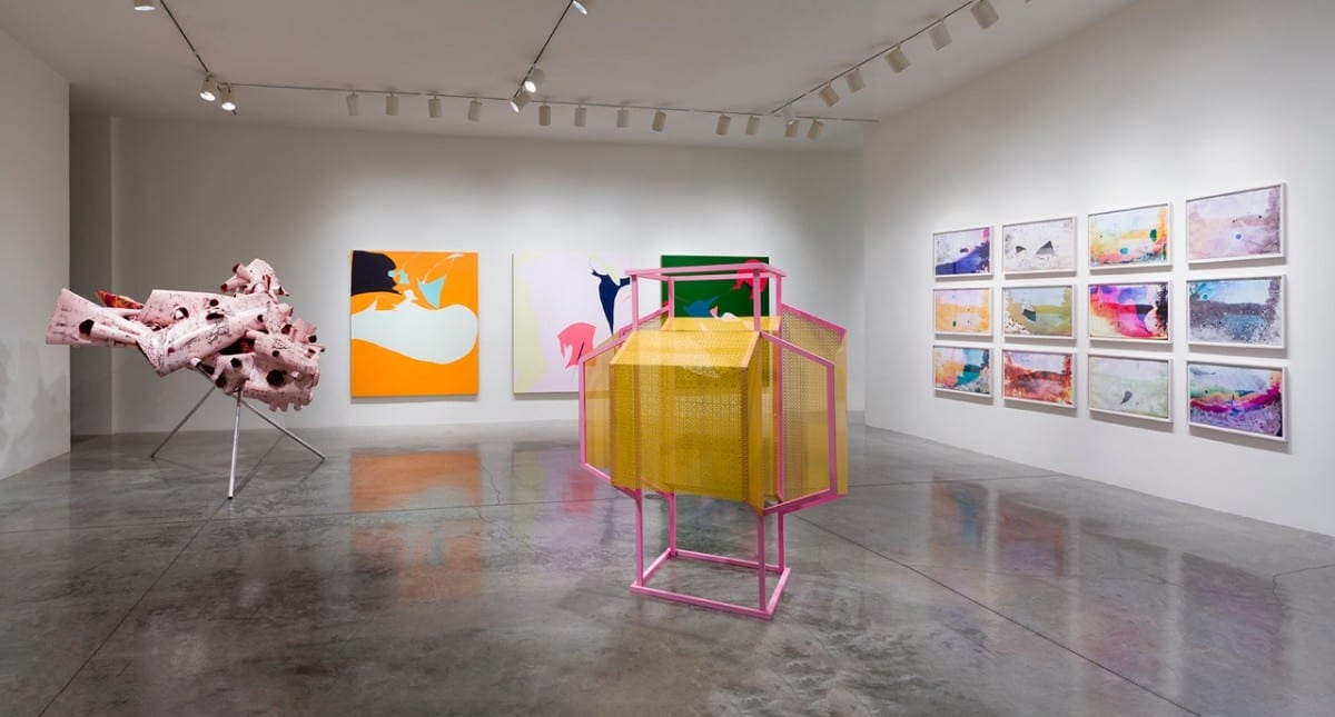 Rogue Wave 2013: 15 Artists from Los Angeles, installation view at L.A Louver