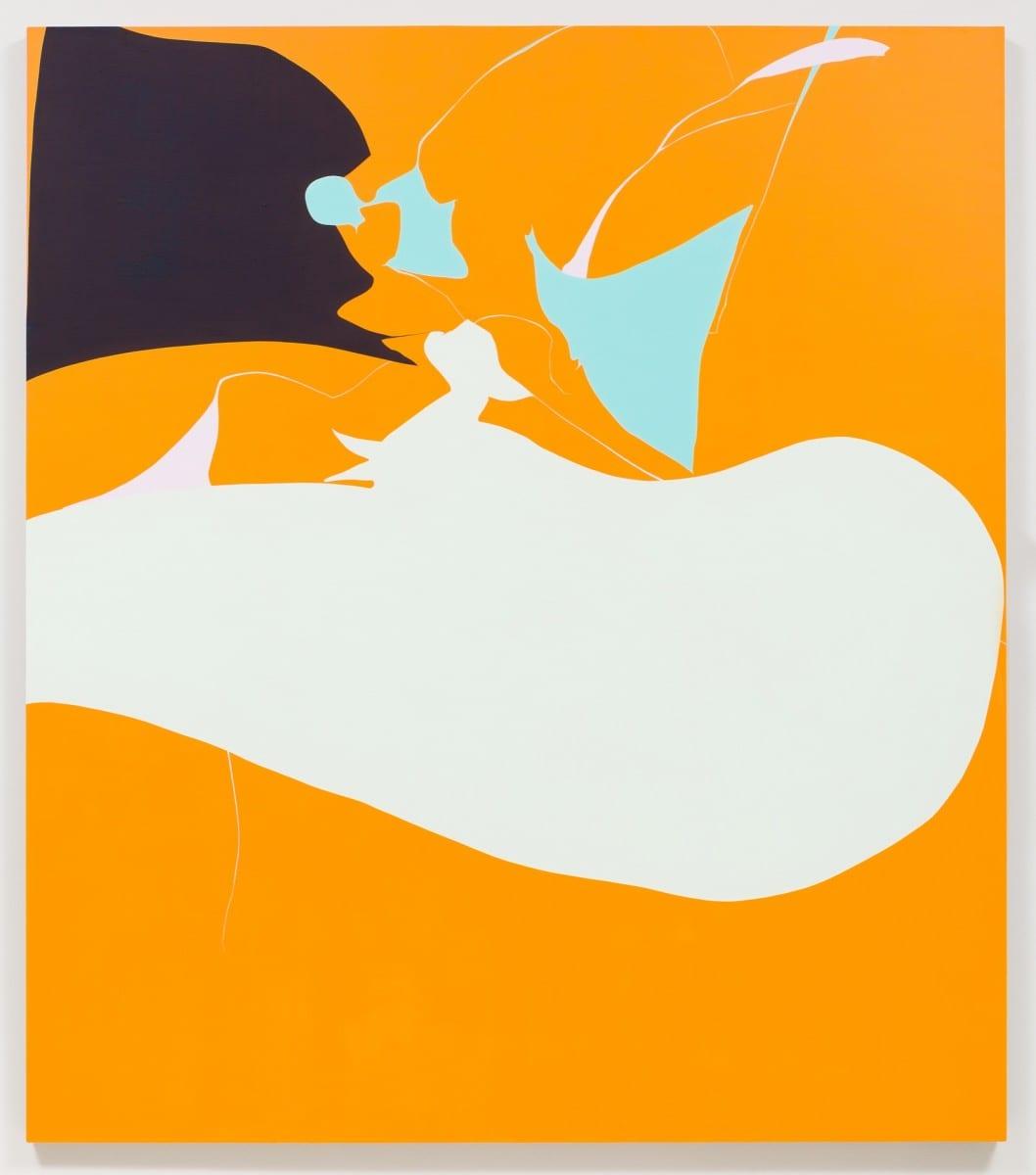 """Heather Gwen Martin, Huffer, oil on linen, 82"""" x 72"""", 2013"""