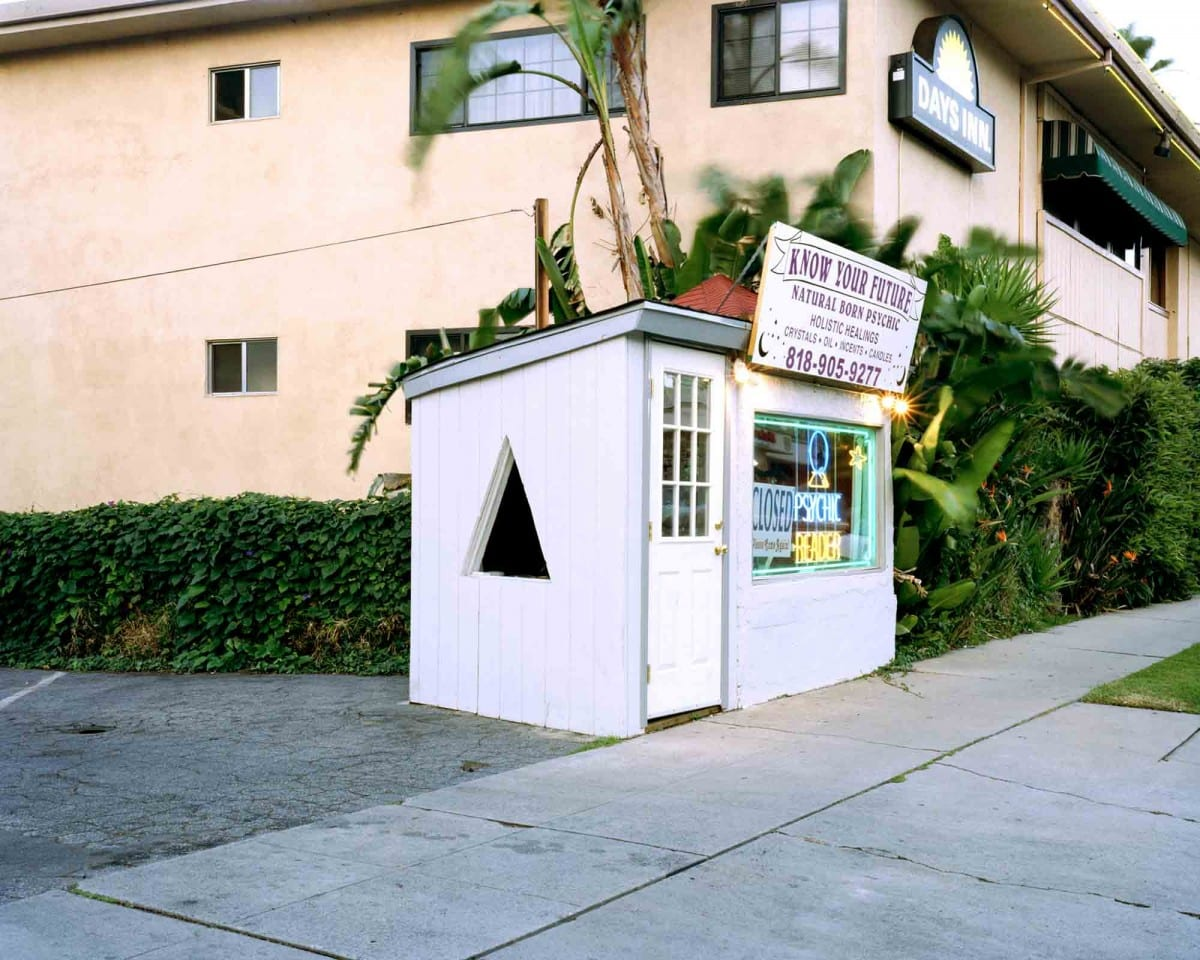 """Lisa Anne Auerbach, Know Your Future, North Hollywood, CA (Small Business Series), 30"""" x 40"""", C-print, 2003."""