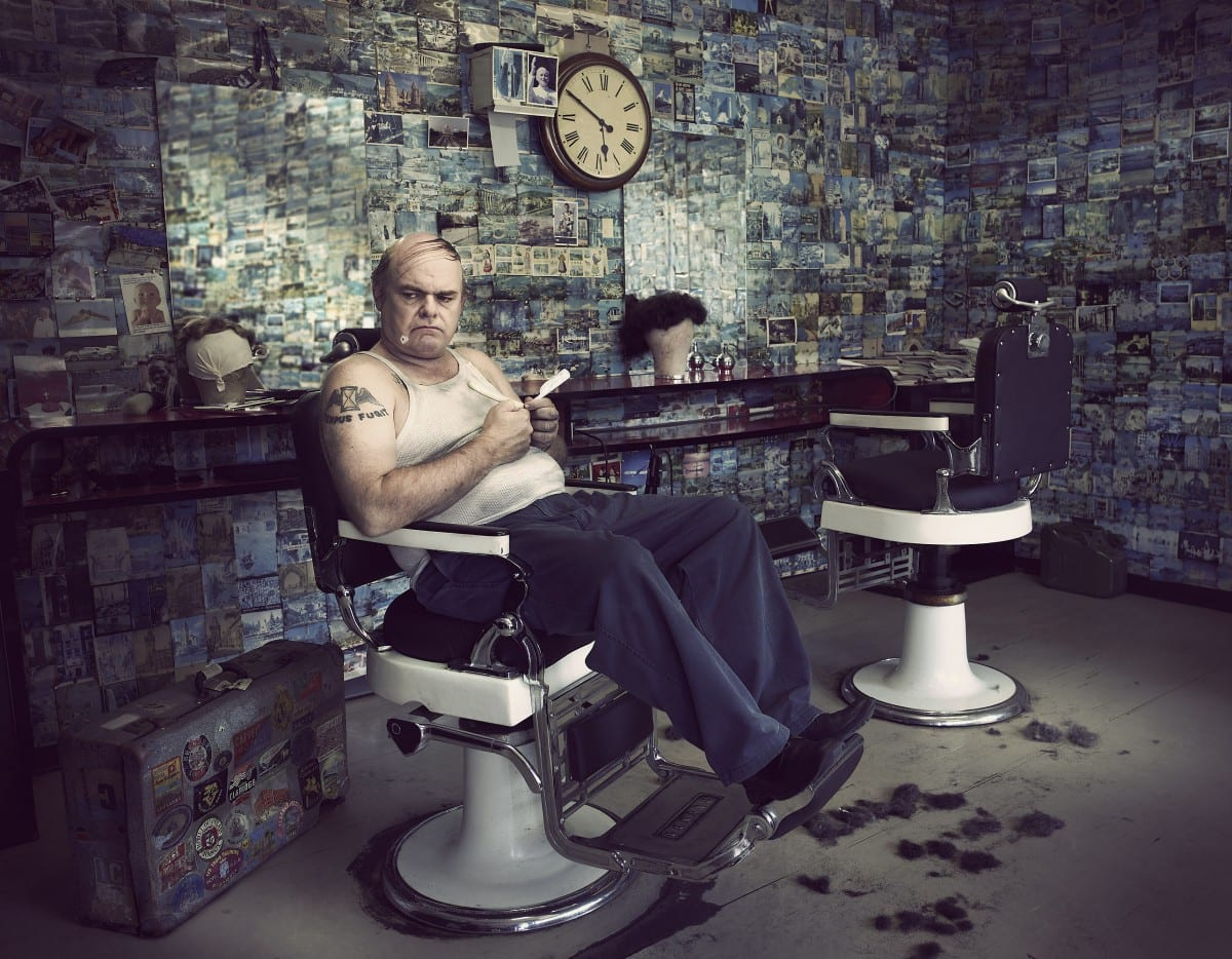 Mark Mawson, Barber shop, C Type print, 2008