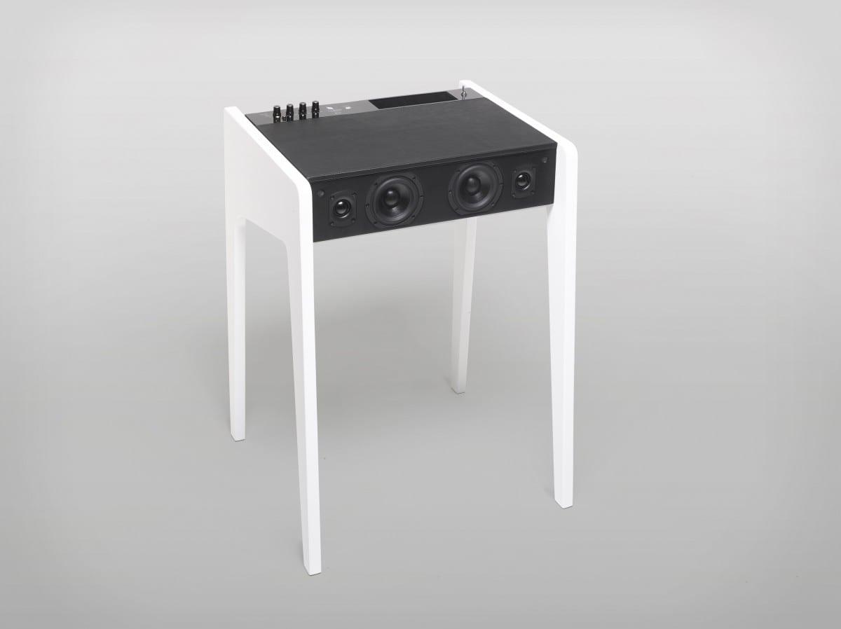 La Boite Concept+CC LAB's LD120 Hi-Fi Soundsystem+Laptop Desk