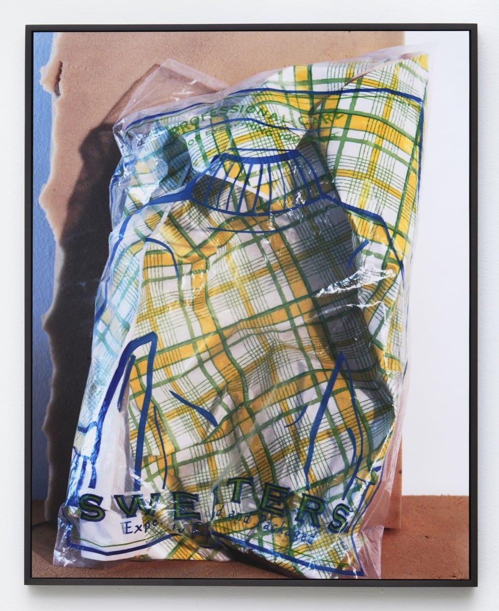 "Lucas Blalock, Sweater, Chromogenic print, 25 ½"" x 20 ½"", edition 3 of 3 plus 2 APs, 2012"