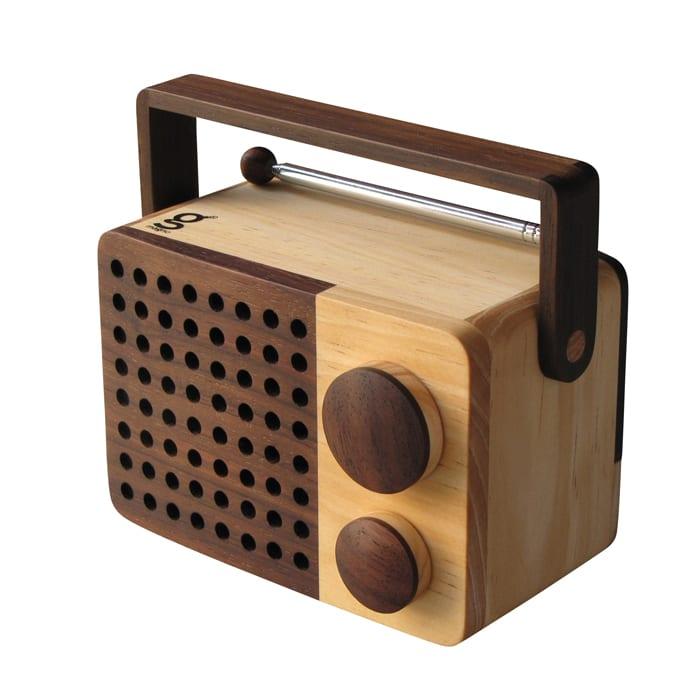 Singgih Kartono's Magno Micro Wooden Radio MiKRO