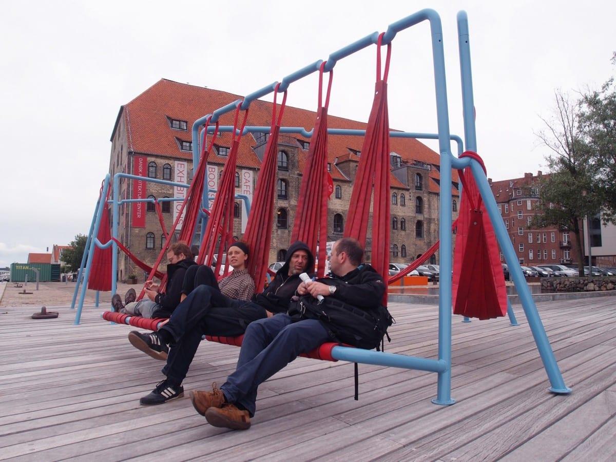 Off-ground at DAC, Danish Architecture Centre, Copenhagen.