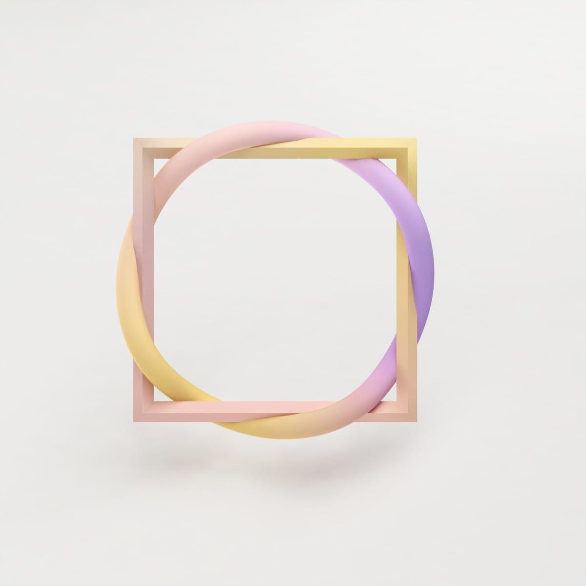 Maiko Gubler, Gradient Bangles, Frame, digital model/ dimensions variable, 2013