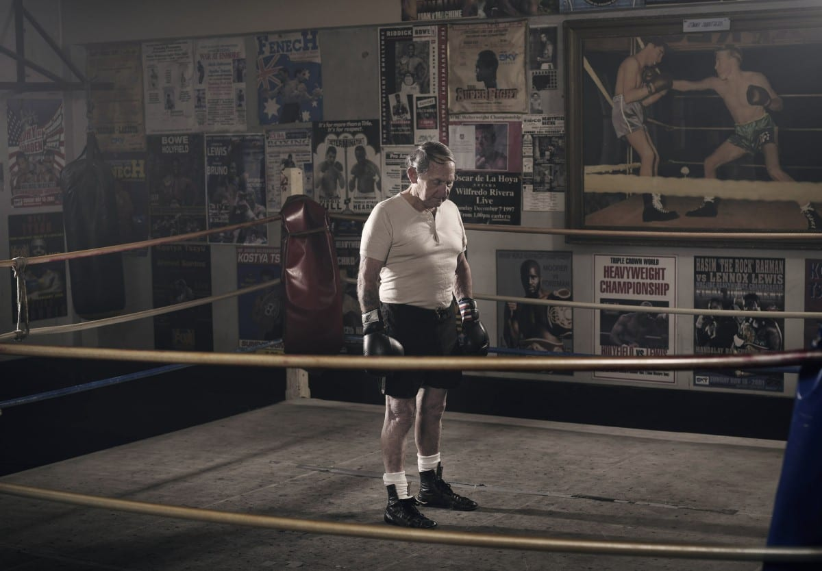 Mark Mawson, The Old Boxer, C Type print, 2008