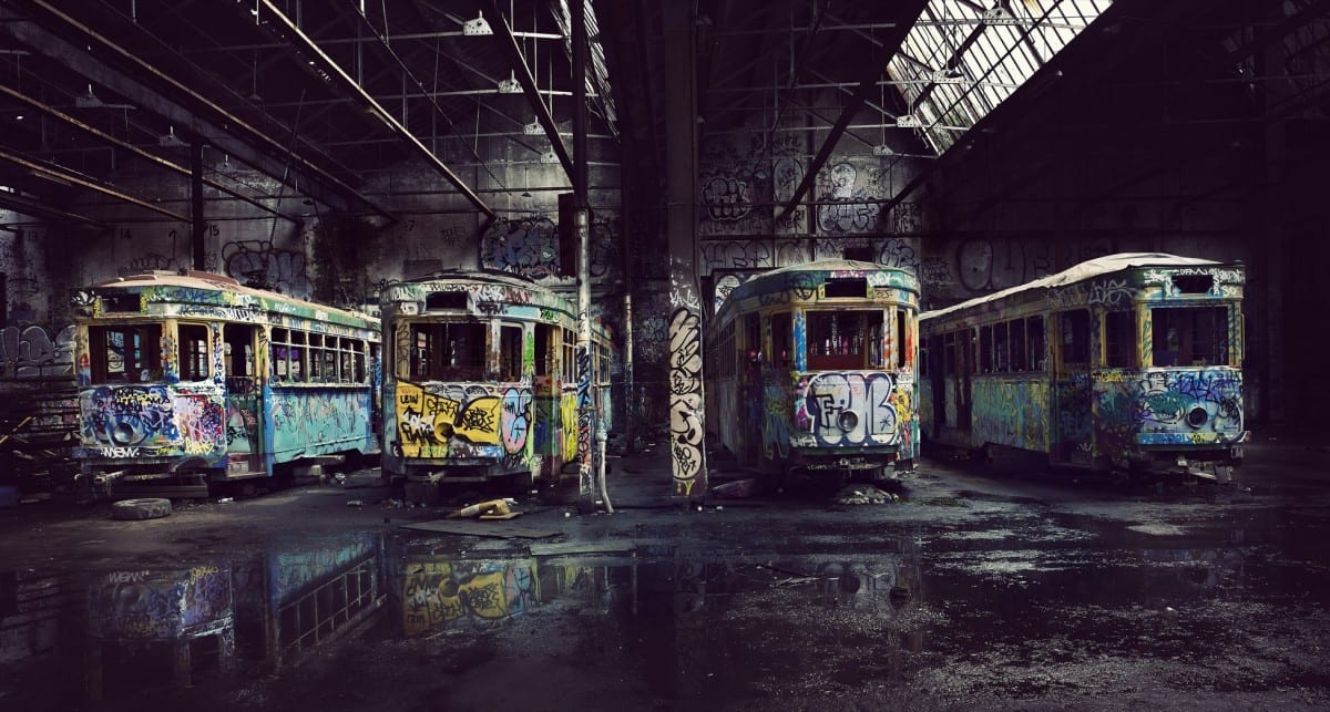 Mark Mawson, The Tram Shed, C Type print, 2009