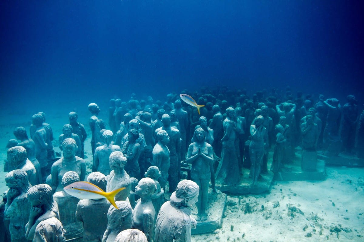 The Silent Evolution, Depth 8m, MUSA Collection, Cancun/Isla Mujeres, Mexico, 2010