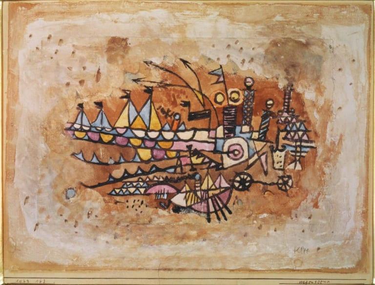 Paul Klee, Port Scene, Bridgeman-Giraudon / Art Resource, NY / Klee, Paul (1879-1940) © ARS, NY, Atheneum Art Museum, Helsinki