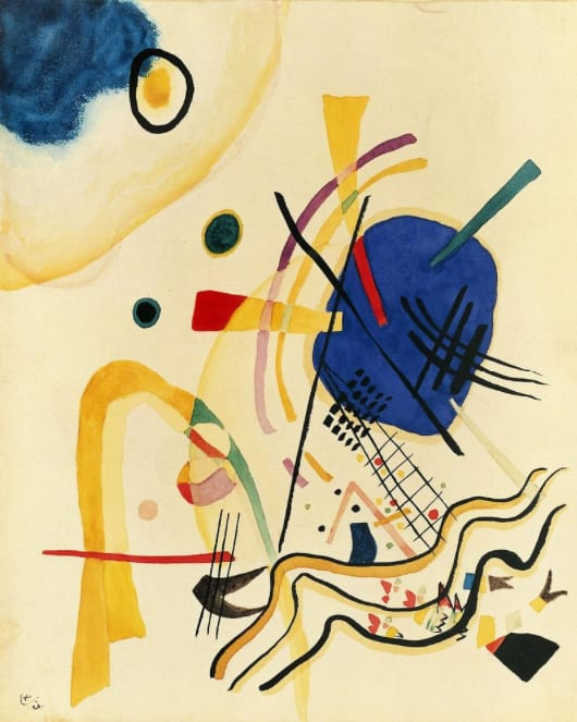 Wassily Kandinsky, Untitled, Oil on canvas, 1921, Erich Lessing / Art Resource, NY / Kandinsky, Wassily (1866-1944) © ARS, NY, Kunstmuseum Basel, Basel
