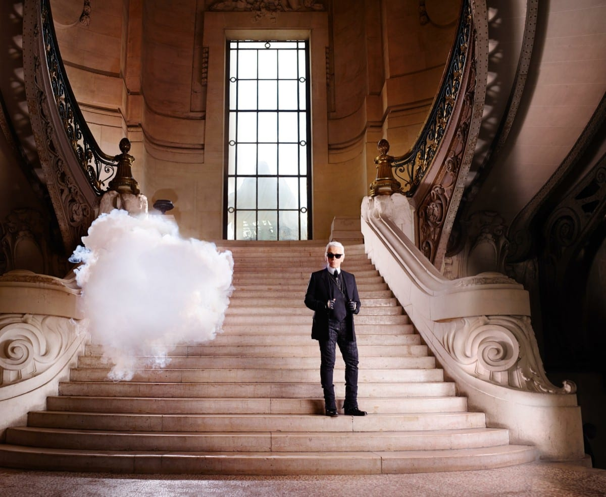 Berndnaut Smilde, The In Cloud- Karl Lagerfeld, 2013, courtesy of the artist, Harper's Bazaar and Ronchini Gallery.  Photo © Simon Procter
