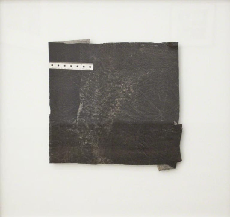 Robert Nickle, Black Collage, collage on paper