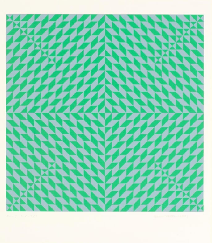 Anni Albers, Do-C, Silkscreen