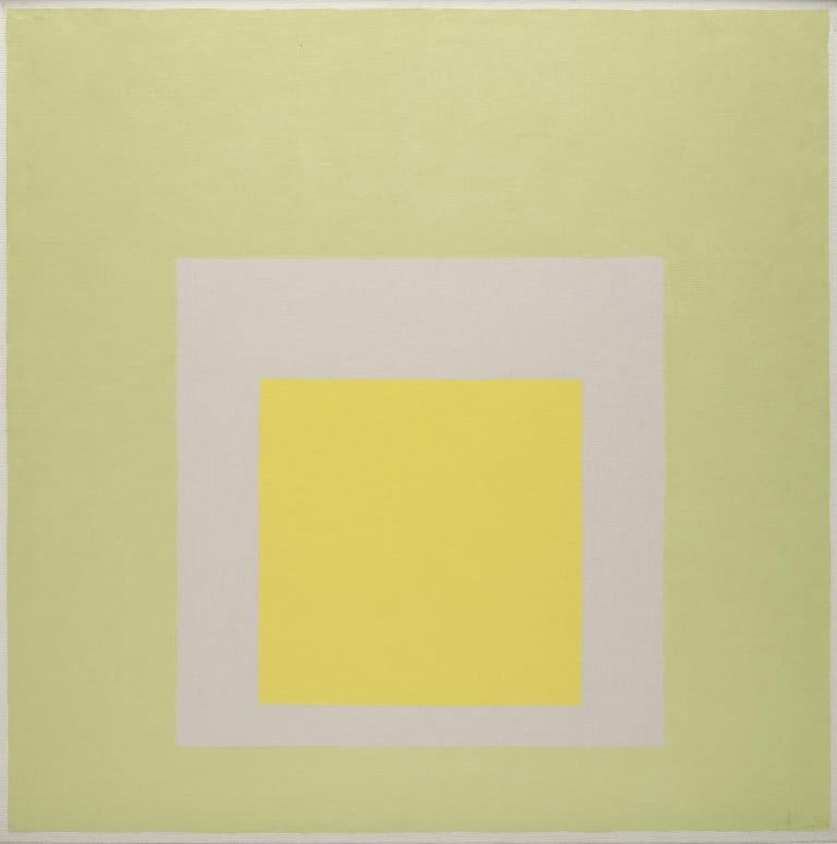 Josef Albers, Homage to the Square: for J.H. Clark, Oil on Masonite, 
