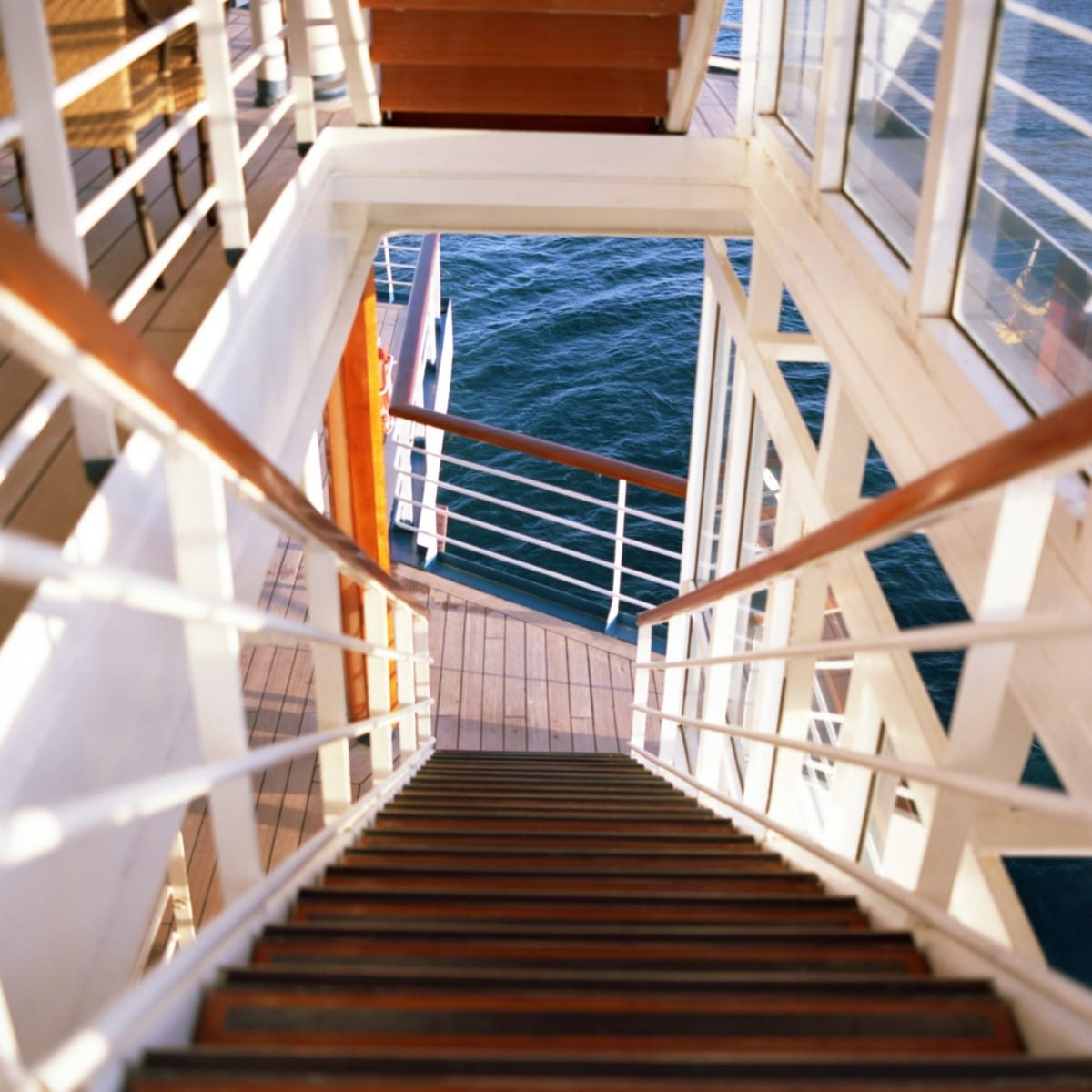 David Kitz, Ship Stairs, Photograph