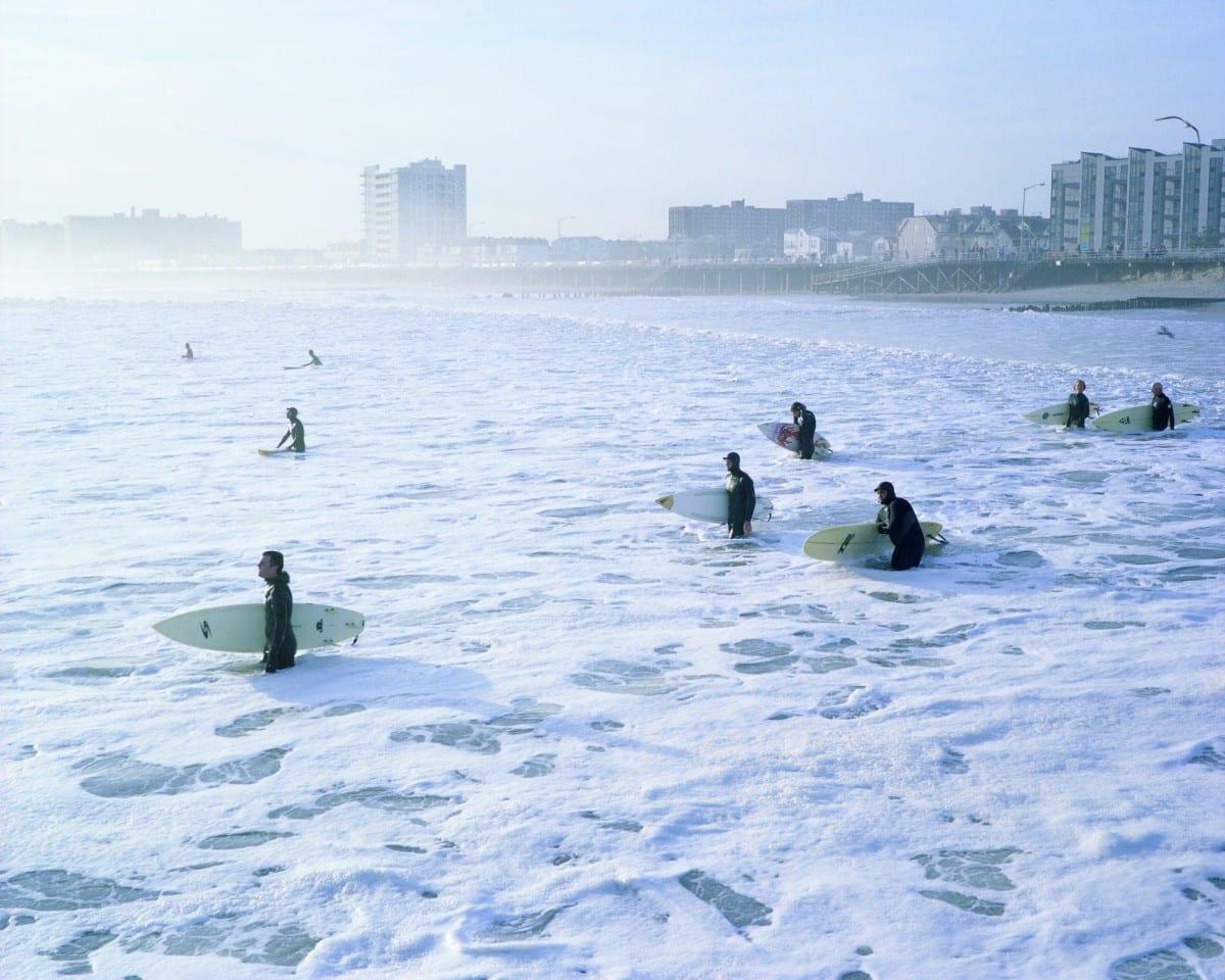Matthew Schenning, Surfers Wading Out