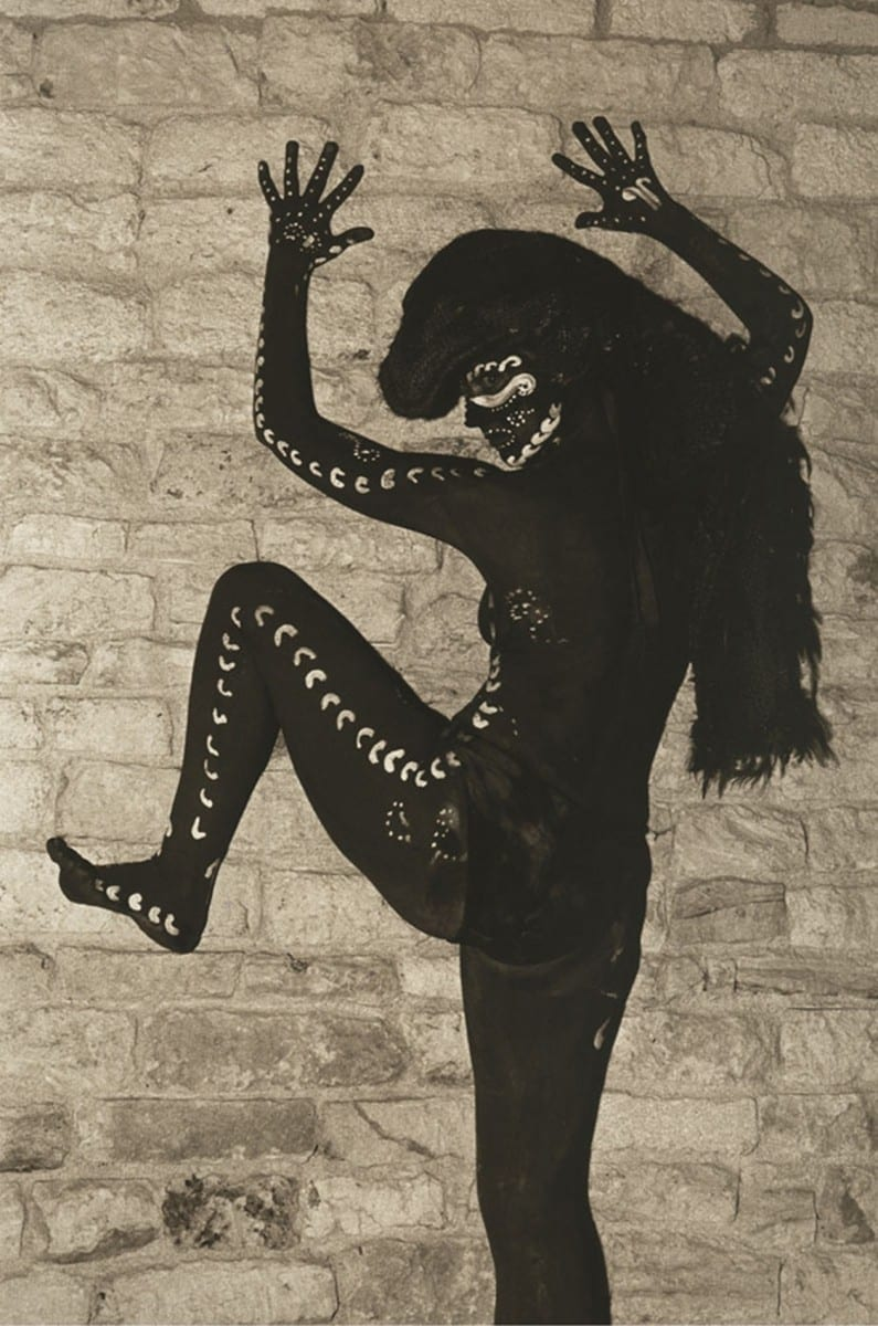 Olivia Barrionuevo, Mujer Jaguar (Jaguar Woman), Photography, 2010