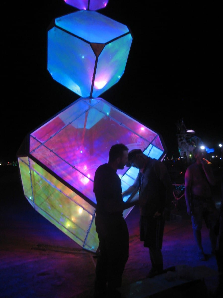 (In)Visible at Burning Man, 2013 ©Kirsten Berg