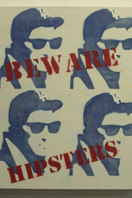 "Cali Killa, Beware Hipsters LA, 16"" x 20"""