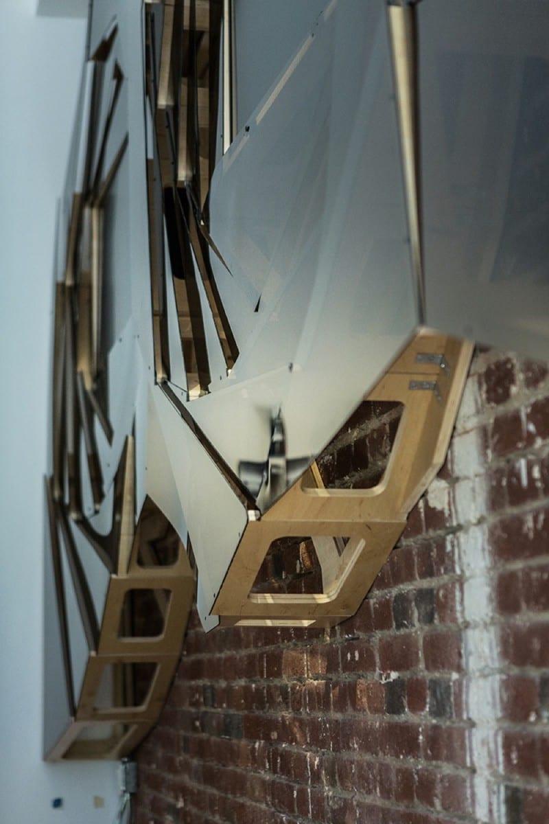 Andrei Hakhovich (Gradient Matter), Vorticity Installation, Photo by Olga Tsibulina ©gradient matter