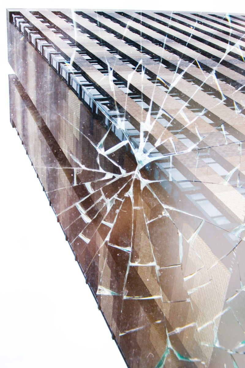 """Michael Chase, Shattered Place, digital/deep matte print, 16"""" x 24"""", 2013"""