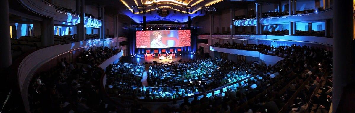 Session I, TEDX BRUSSELS 2013 - Belgium - Brussels, 28 October 2013 © TEDx Brussels/Scorpix