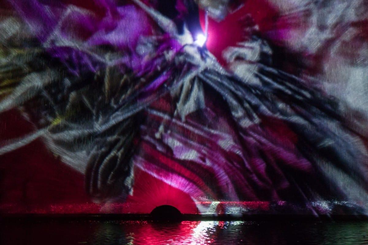 Robert Seidel, Advection, video projection, 2013 ©Robert Seidel