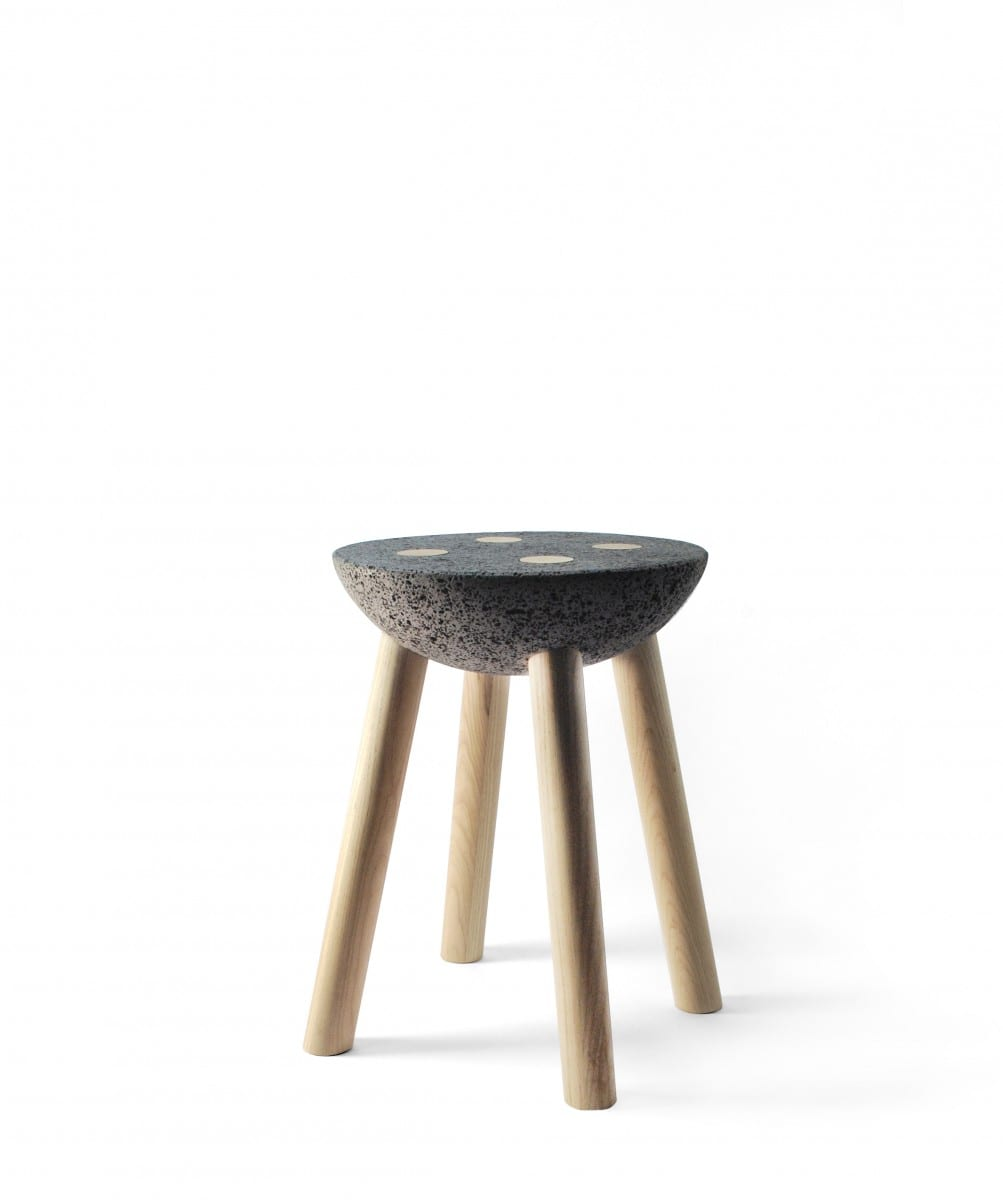 Stool, Materiality series ©Cooperativa Panoramica