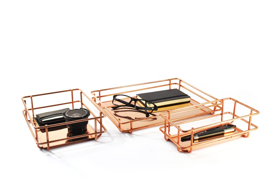Wire frame trays, Materiality series ©Cooperativa Panoramica