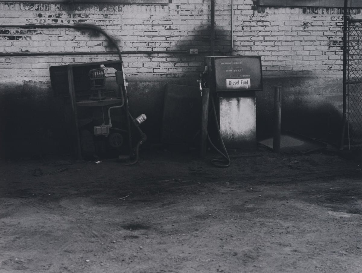 "David Lynch, untitled (Industrial, New York), archival silver gelatin print, 11""x14"", 1988. Photo Credit: Robert Wedemeyer. Courtesy of the artist and Kayne Griffin Corcoran, Los Angeles."