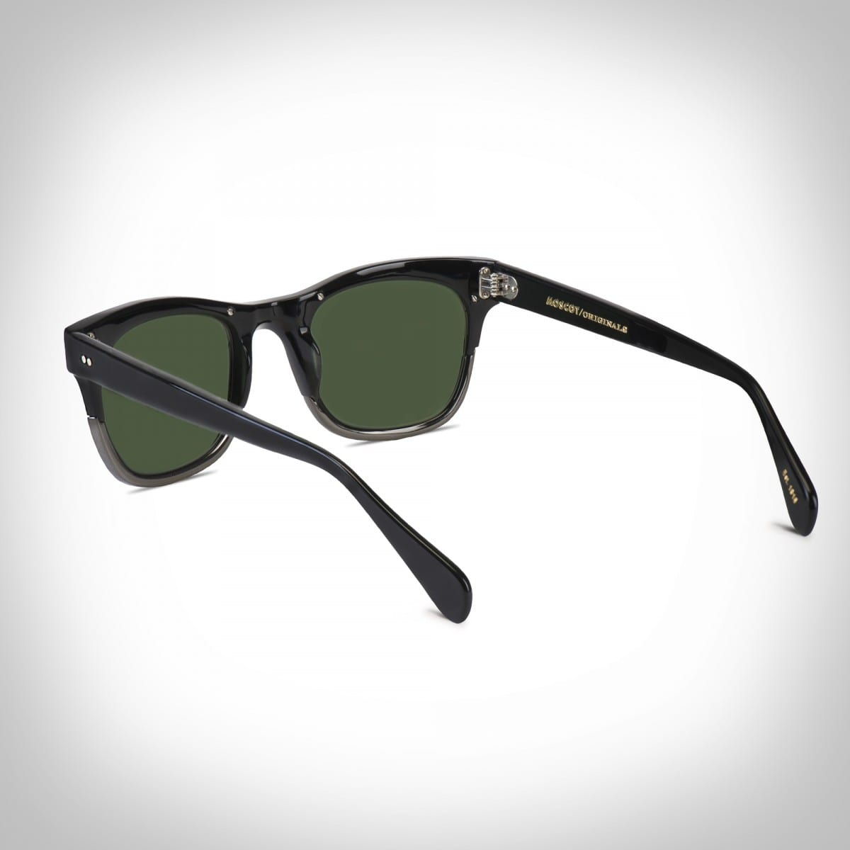 The ACE: Black/ Gunmetal ©Moscot