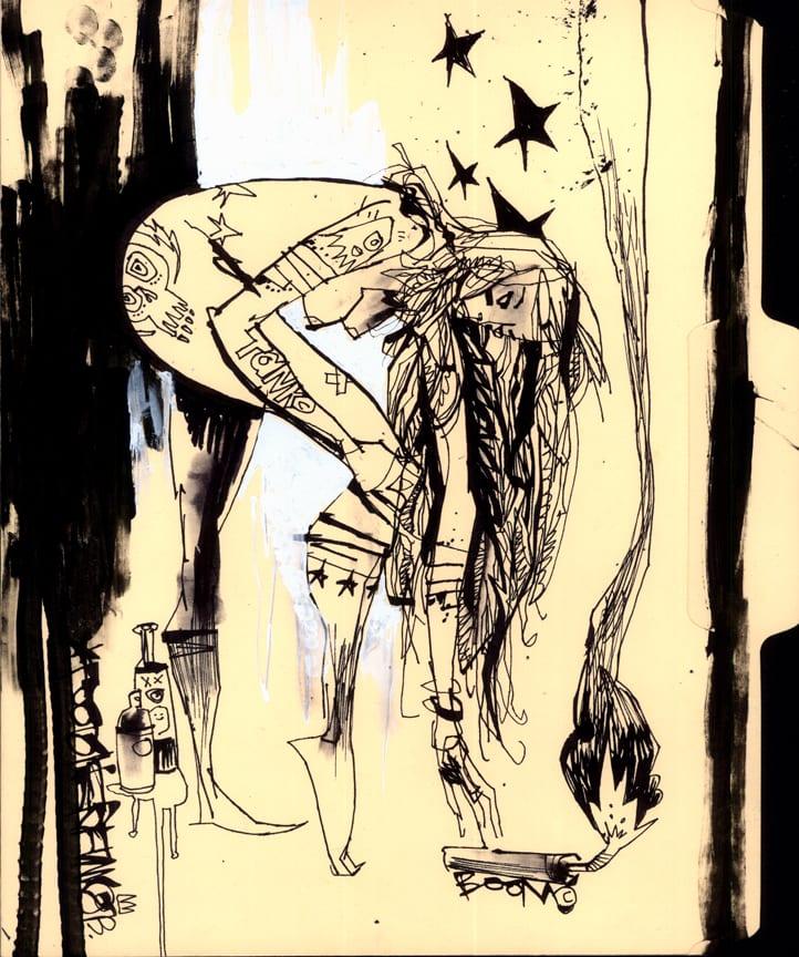 Jim Mahfood's Visual Funk