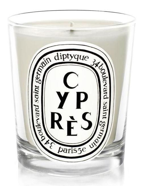 Cyprès/ Cypress candle ©Diptyque Paris