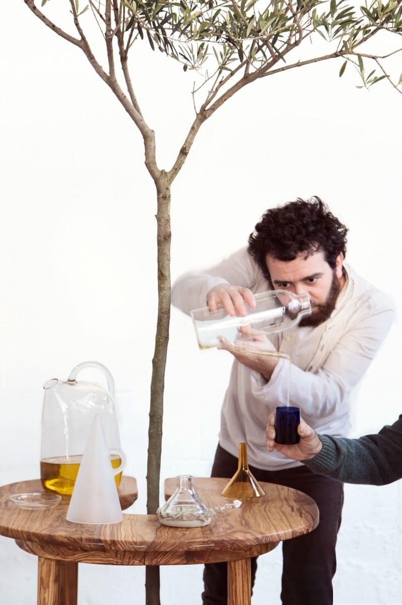 Antonio Arico using the Taste of Wood Collection ©Antonio Arico