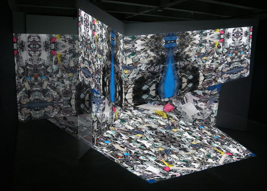 Danial Nord, Fate Machine, installation for Fringe Exhibitions, Los Angeles, CA, 21' x 23' x 8', 2008 ©Danial Nord