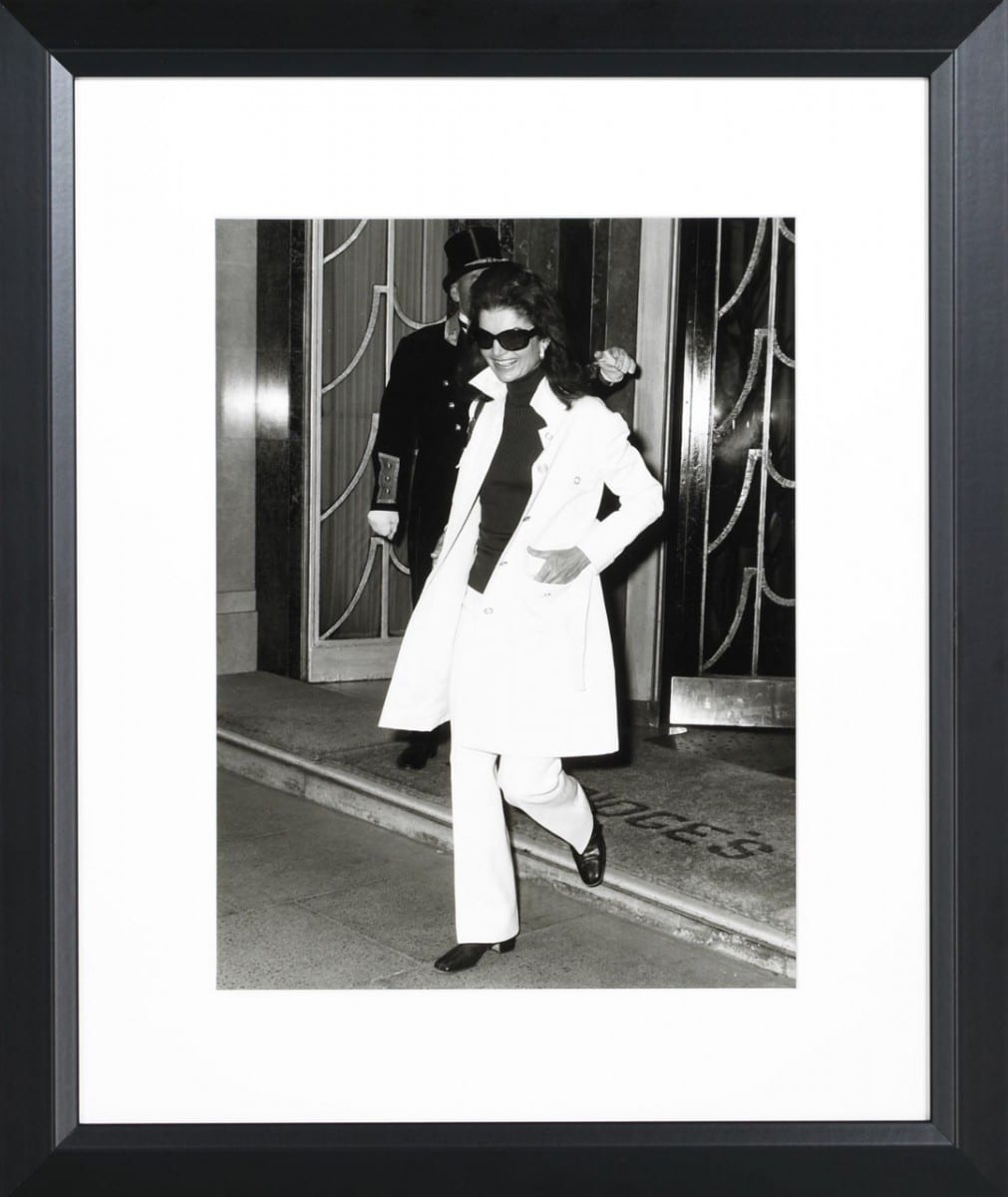 Ted West, Jackie Onassis, gelatin silver print on archival fiber paper, 1970 ©Ralph Lauren Home and Getty Images