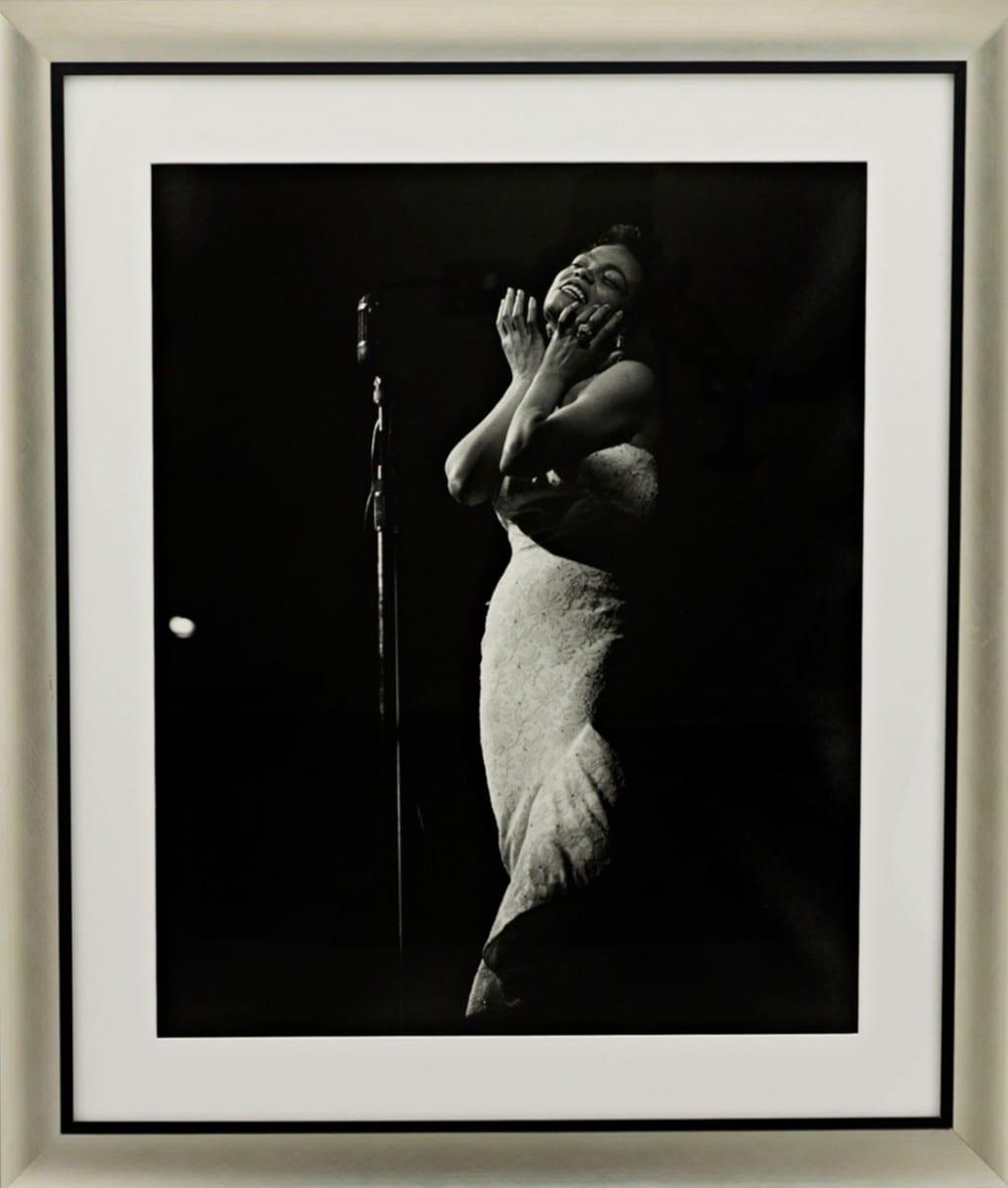 Michael Ochs, Eartha Kitt, gelatin silver print on archival fiber paper, 1970 ©Ralph Lauren Home and Getty Images
