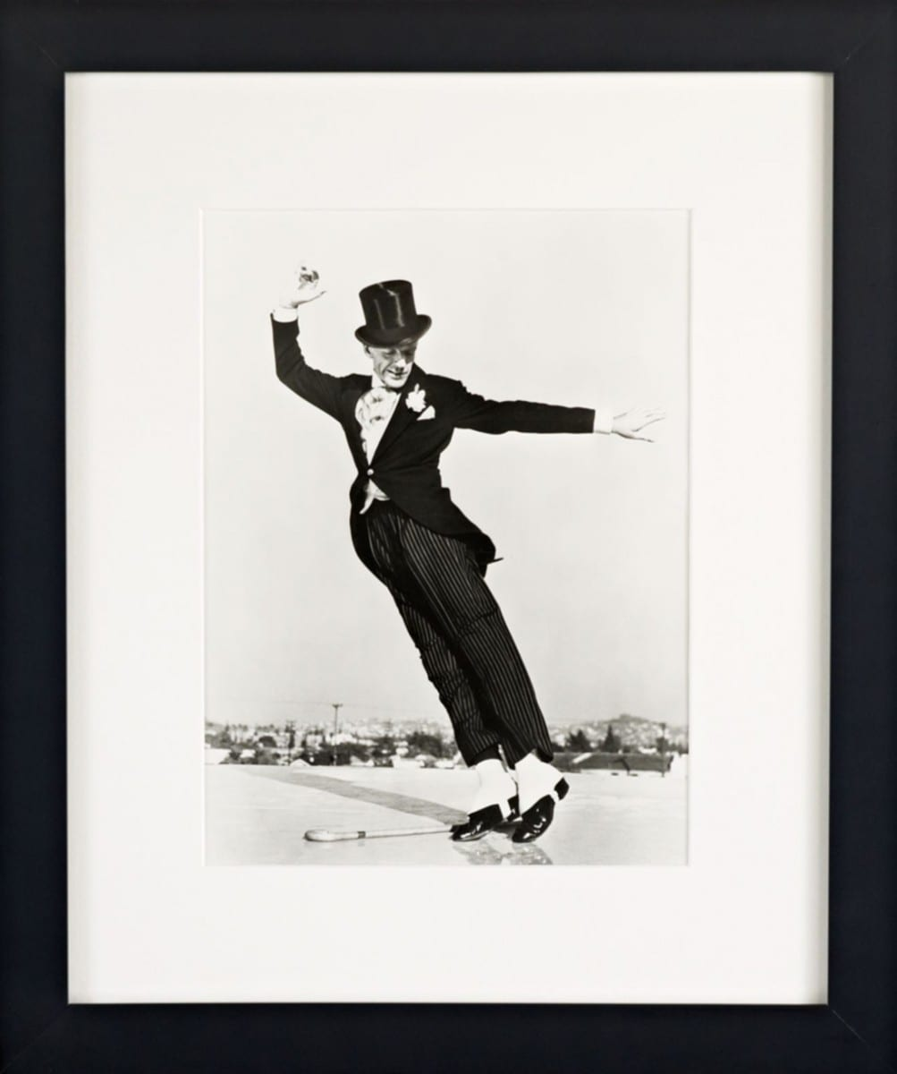 Hulton Archive, Fred Astaire..., gelatin silver print on archival fiber paper, 1946 ©Ralph Lauren Home and Getty Images