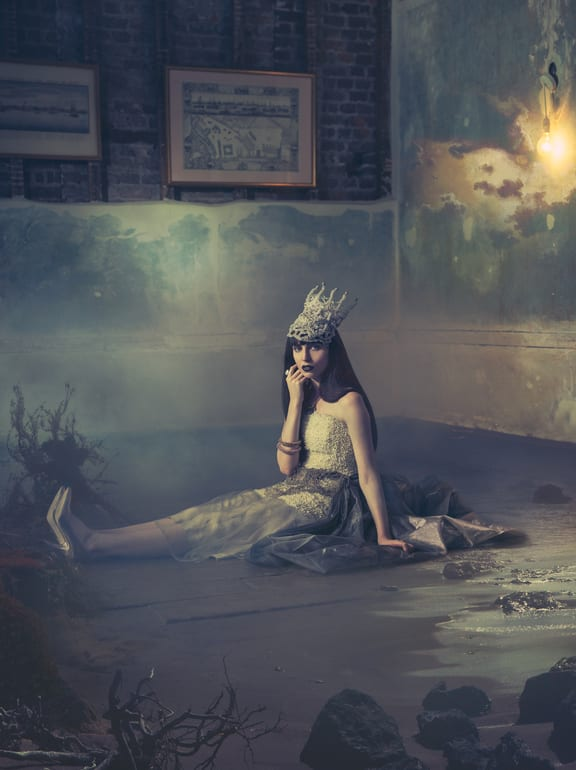 Miss Aniela, Victory Voyage, C-type, Edition of 3, 45.3 x 33.9""