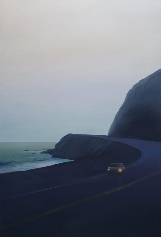 Relja Penezic, California Road Chronicles #41, oil, 60 x 36""