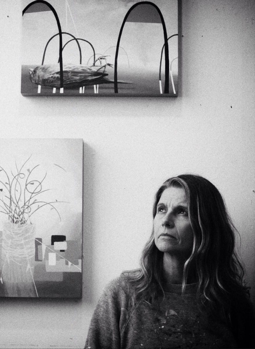 Portrait of Lisa Adams in her studio by Garet Field-Sells ©Installation Magazine