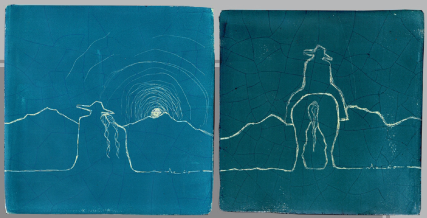 Meño, Ceramic Murals (detail), 2014