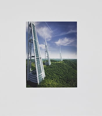 Newton Harrison and Helen Mayer Harrison, Greenhouse Britain, 2011, portfolio of 15 prints, published by Edition Jacob Samuel