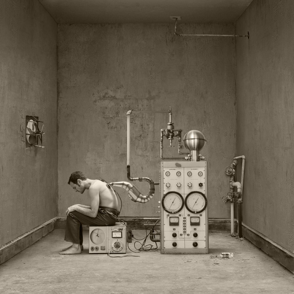 """Jennifer B. Hudson, Extraction from the Series, Medic, Pigment Ink Print, 10""""x10"""",  Edition of 10, 2011"""