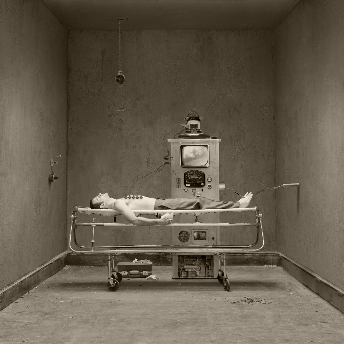 """Jennifer B. Hudson, Safekeeping from the Series, Medic, Pigment Ink Print, 10""""x10"""",  Edition of 10, 2011"""