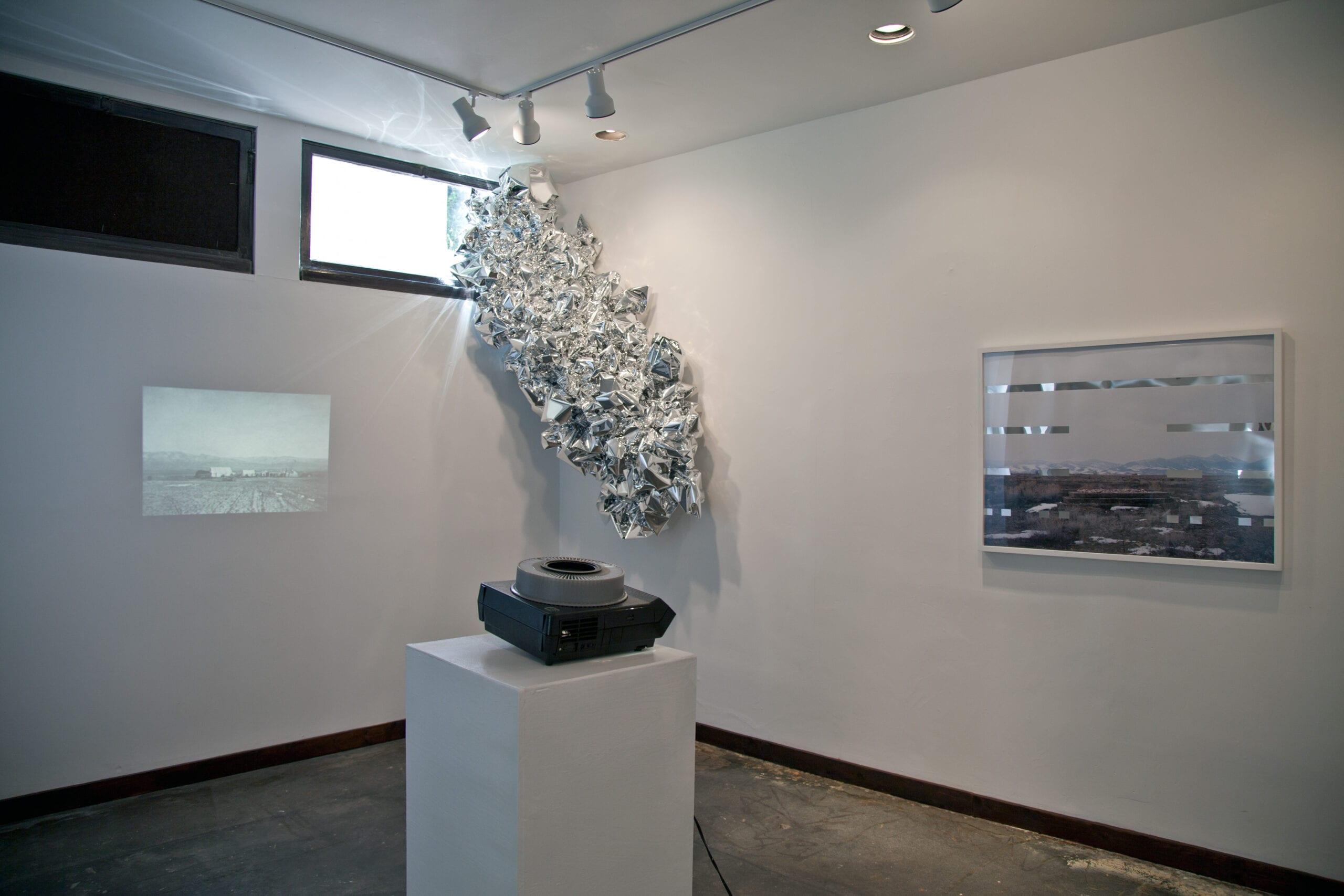 Anna Ayeroff, installation views of Clarion Calls series, 2010